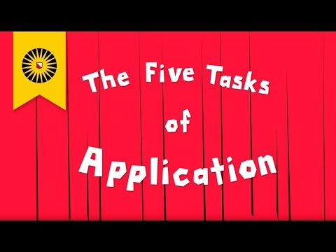 The steps of application