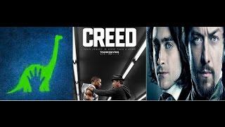AJ's Movie Reviews: Creed, The Good Dinosaur & Victor Frankenstein(11-27-15)