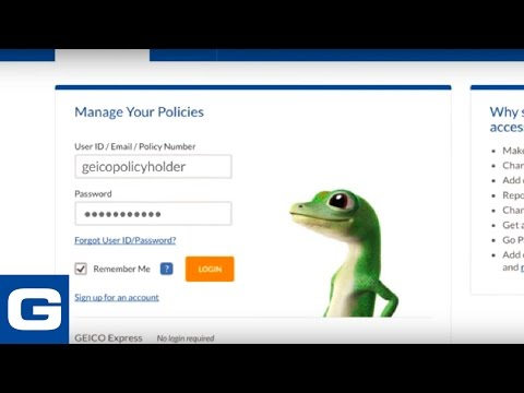 Manage your policy on geico.com