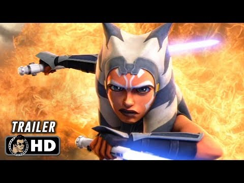 STAR WARS: THE CLONE WARS Season 7 Official Trailer (HD) Animated Series