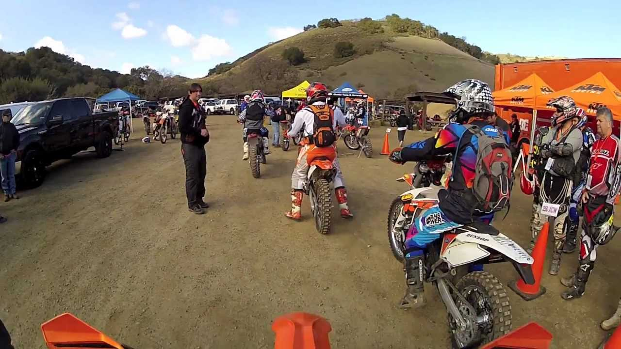 2013 ktm 250 xc - ktm demo rides hollister hills - youtube