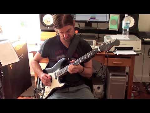 Funk Rock Guitar Solo 4# w/ PDF & Tab transcription