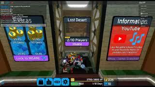 Roblox Flood Escape 2 (Partie 1) Ft. KillerZD101, TEYTEY097 - candy-Lyra