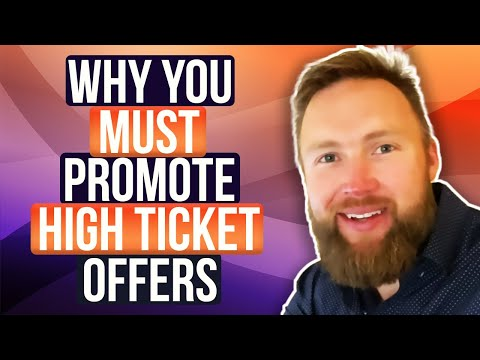 Affiliate Marketing For Beginners:  Why High Ticket Affiliate Marketing?