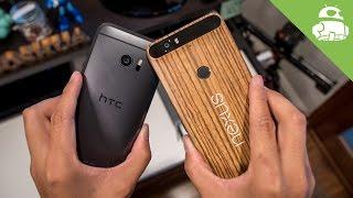 HTC 10 vs Nexus 6P