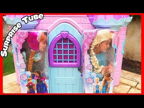 Disney Princess Elsa Anna My Size Doll In Real Life