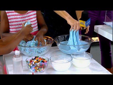 YouTube star Karina Garcia shares slime-making tips live on