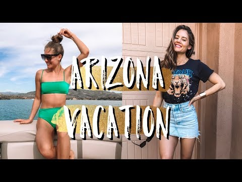 Moving Again?!? | Arizona Travel Vlog + GLUTE Workout