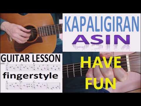 KAPALIGIRAN by ASIN fingerstyle GUITAR LESSON