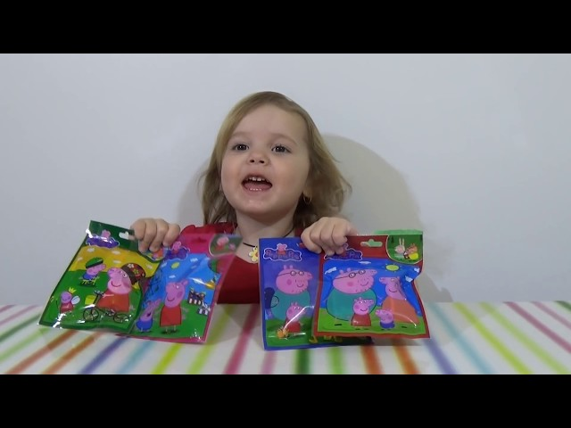 Свинка Пеппа -пакетики с игрушками (подделка)