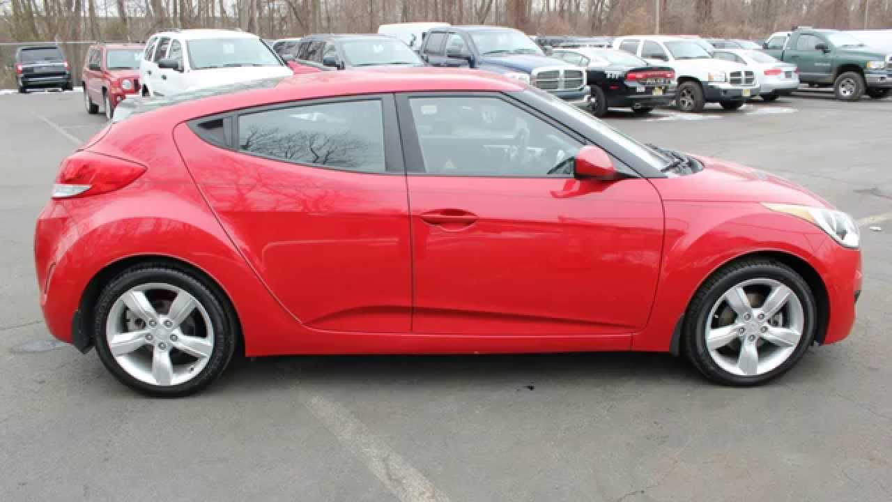 2013 Hyundai Veloster Red Youtube