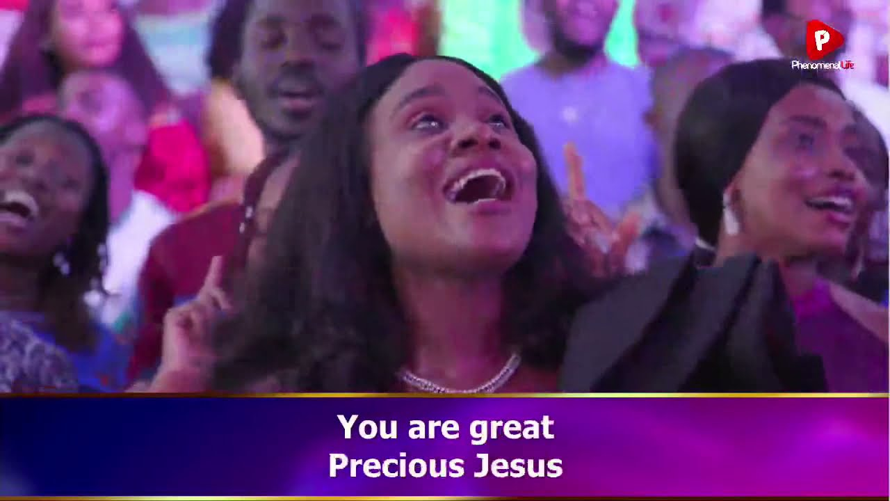 Download PRECIOUS JESUS (WHAT A GREAT GOD YOU ARE) Render - LOVEWORLD SINGERS (BOUNDLESS GRACE BAND)