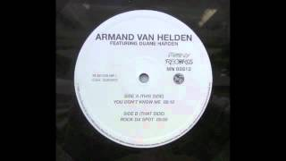 Armand Van Helden Feat. Duane Harden - You Don