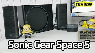 Sonic Gear Space 5 - sound system 2.1 berkualitas