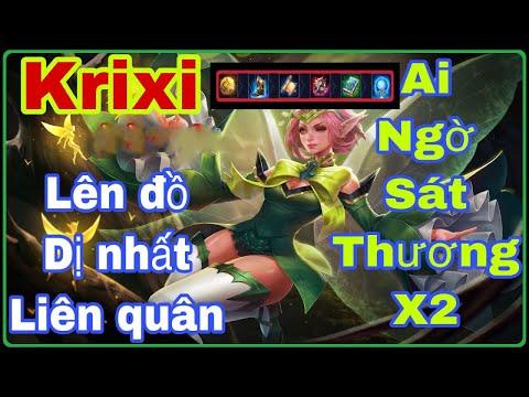 Krixi Mùa 14 | Lên đồ , Bảng Ngọc , phù hiệu cho Krixi mùa 14 | Krixi đi mid Cân Team MVP