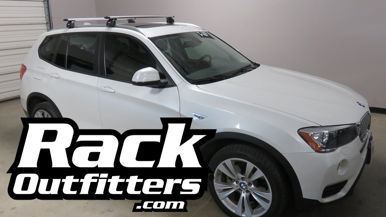 2016 Bmw X3 With Thule 460r Aeroblade Base Roof Rack