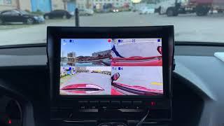 100미터 수신 4채널 디지털 무선후방 카메라(녹화),…