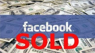 I Just Sold My Facebook shares ! (FB)