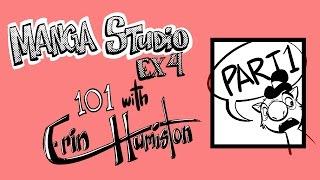 Manga Studio EX4 101 tutorial - part 1