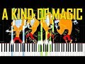 Download A Kind Of Magic - Queen [Synthesia Piano Tutorial] MP3 song and Music Video