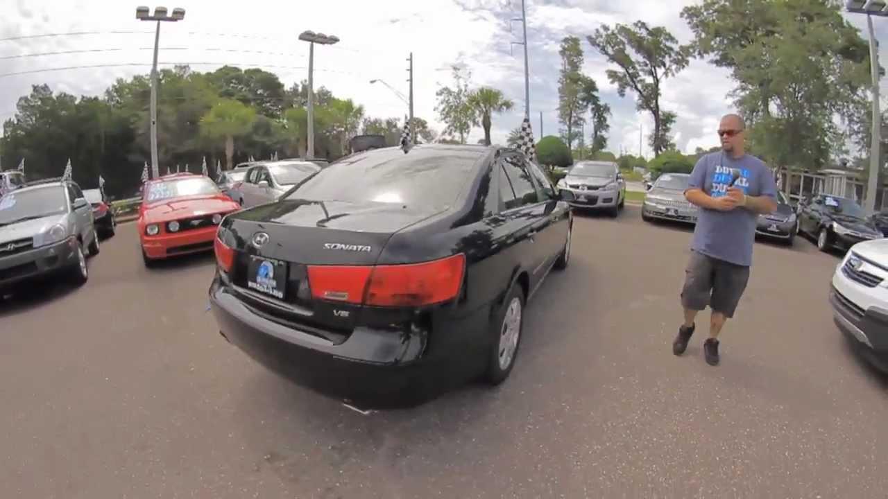 Autolineu0027s 2009 Hyundai Sonata GLS Walk Around Review Test Drive
