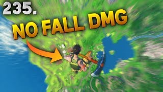 500 IQ NO FALL DMG TRICK..!! Fortnite Daily Best Moments Ep.235 Fortnite Battle Royale Funny Moments