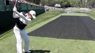 CAMILO VILLEGAS SLOW MOTION 16TH HOLE MASTERS 2009