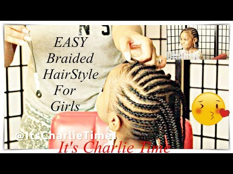 fast-braided-style-for-school-girls-{natural-hair}