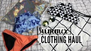 SUMMER CLOTHING HAUL 2015!