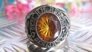 GENERAL H.H. ARNOLD GERMANY Wiesbaden High School Class Ring 1983 10K P