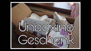 Unboxing Geschenke für Mama und Baby || Schwanger mit 18