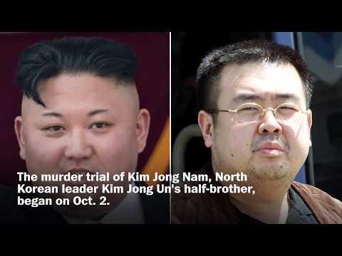 Kim Jong Nam murder trial begins in Malaysia