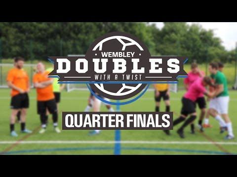 Sunday League Football - WEMBLEY DOUBLES WITH A TWIST - Quarter Finals