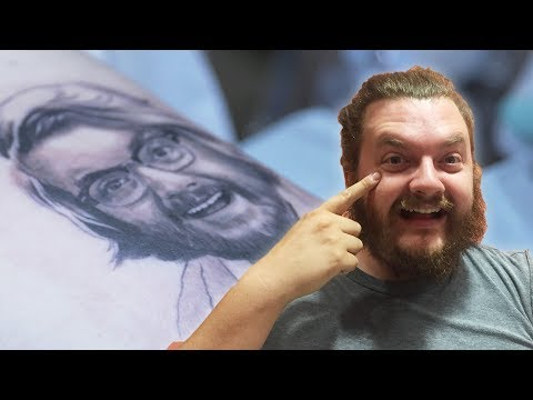 Thumbnail: Couple Gets Their Faces Tattooed Onto Each Other
