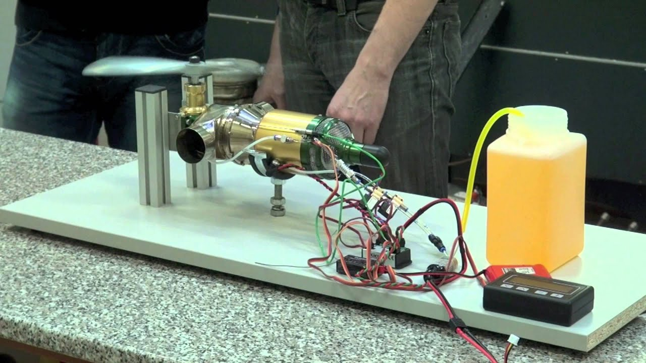 wren helicopter turbine test