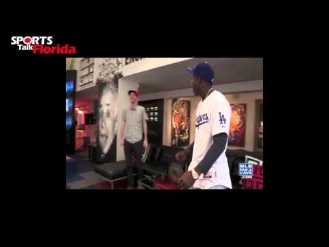 Los Angeles Dodgers Rookie Yasiel Puig Hits New York