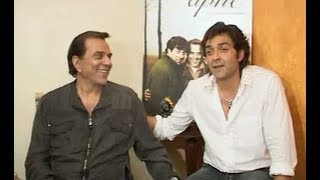 Apne  Dharmendra And Bobby Deol Talk About Their First Onscreen Bonding