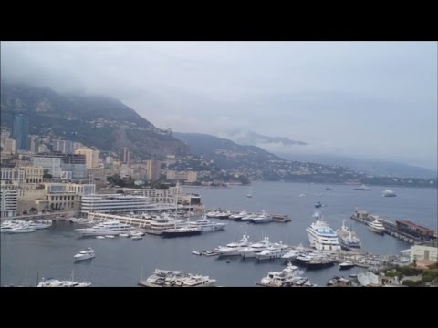 ASMR Travel Video - Monaco