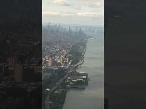 Southwest Airlines | Flight 3500 Landing | Boeing 737 | LGA | NYC View | Central Park