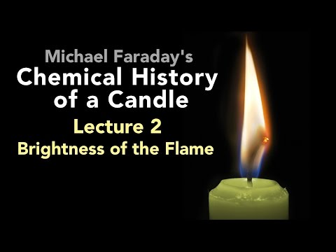 Lecture Two: The Chemical History of a Candle - Brightness of the Flame (3/6)