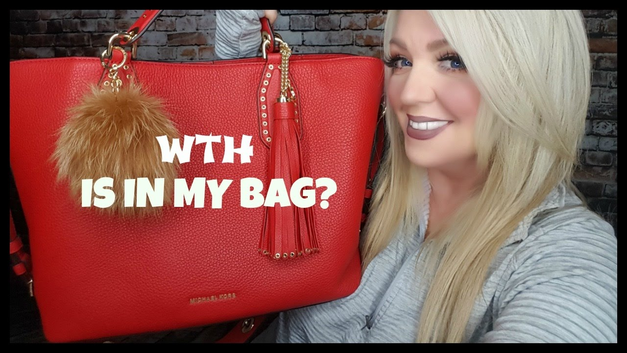 922ba9beaf8d WHAT S IN MY MK BAG  2017 + REVIEW - YouTube