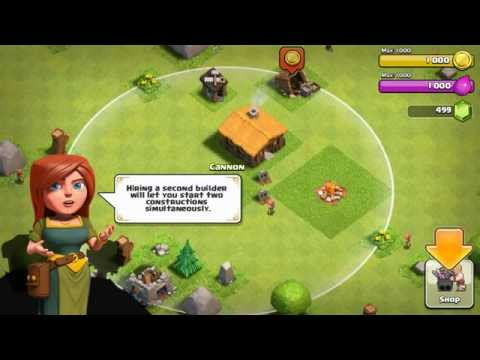 Clash Of Clans game on Moto G