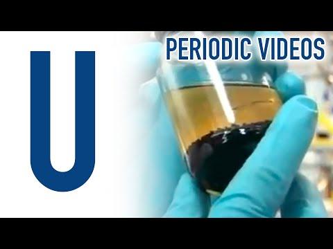 Uranium  - Periodic Table of Videos