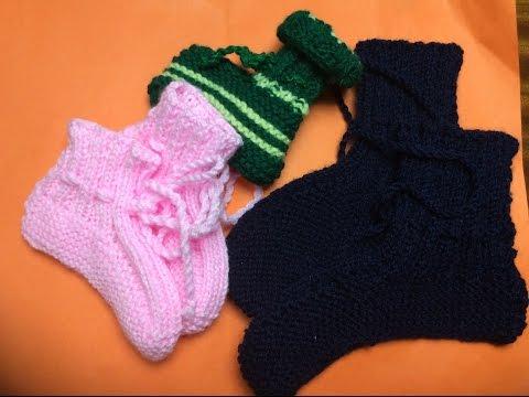 Đan tất len Phần 1 - Knitting  socks part 1