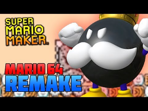 Super Mario Maker: Das bisher beste Super Mario 64 Remake | MineZoneGermany