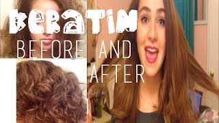 Keratin Treatment // Before and After!