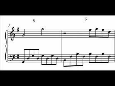 Office Theme Song (US) Piano Sheet Music - YouTube