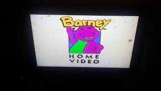 Opening To Barney's Magical Musical Adventure 1992/1993 VHS