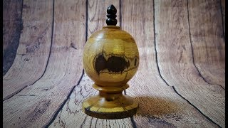 Woodturning - Easy project for beginners