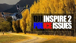 DJI Inspire 2 Slow Motion while police kick me out. #VettasInNZ